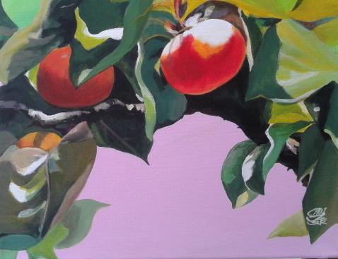 만추.31x41cm.Acrylic on canvas